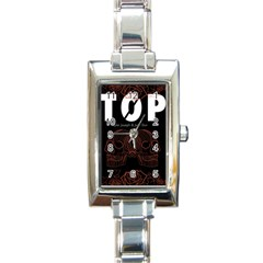 Twenty One Pilots Event Poster Rectangle Italian Charm Watch by Onesevenart