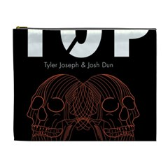 Twenty One Pilots Event Poster Cosmetic Bag (xl) by Onesevenart