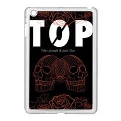 Twenty One Pilots Event Poster Apple Ipad Mini Case (white) by Onesevenart