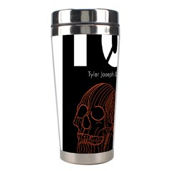 Twenty One Pilots Event Poster Stainless Steel Travel Tumblers by Onesevenart