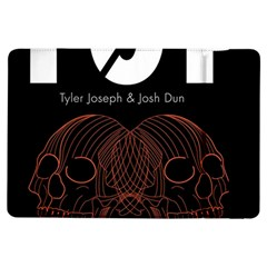 Twenty One Pilots Event Poster Ipad Air Flip by Onesevenart