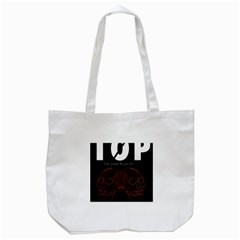 Twenty One Pilots Event Poster Tote Bag (white) by Onesevenart