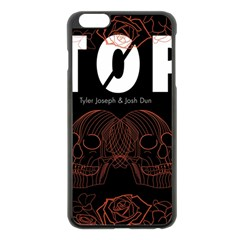 Twenty One Pilots Event Poster Apple Iphone 6 Plus/6s Plus Black Enamel Case by Onesevenart