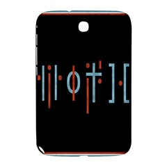 Twenty One Pilots Event Poster Samsung Galaxy Note 8 0 N5100 Hardshell Case  by Onesevenart