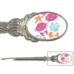 Animals Sea Flower Tropical Crab Letter Openers