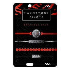 Twenty One Pilots Event Poster Amazon Kindle Fire Hd (2013) Hardshell Case by Onesevenart