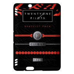Twenty One Pilots Event Poster Kindle Fire Hdx Hardshell Case by Onesevenart