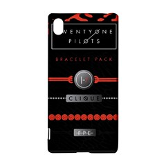 Twenty One Pilots Event Poster Sony Xperia Z3+ by Onesevenart
