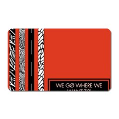 Poster Twenty One Pilots We Go Where We Want To Magnet (rectangular) by Onesevenart