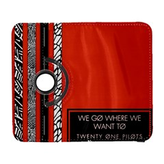 Poster Twenty One Pilots We Go Where We Want To Galaxy S3 (flip/folio) by Onesevenart