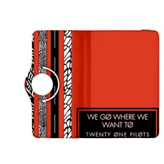 Poster Twenty One Pilots We Go Where We Want To Kindle Fire Hdx 8 9  Flip 360 Case by Onesevenart
