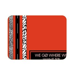 Poster Twenty One Pilots We Go Where We Want To Double Sided Flano Blanket (mini)  by Onesevenart