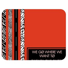 Poster Twenty One Pilots We Go Where We Want To Double Sided Flano Blanket (medium)  by Onesevenart