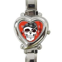 Poster Twenty One Pilots Skull Heart Italian Charm Watch by Onesevenart