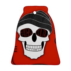 Poster Twenty One Pilots Skull Bell Ornament (two Sides) by Onesevenart