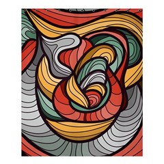 Beautiful Pattern Background Wave Chevron Waves Line Rainbow Art Shower Curtain 60  X 72  (medium)  by Mariart