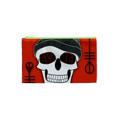 Poster Twenty One Pilots Skull Cosmetic Bag (xs) by Onesevenart