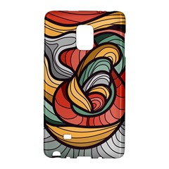 Beautiful Pattern Background Wave Chevron Waves Line Rainbow Art Galaxy Note Edge by Mariart