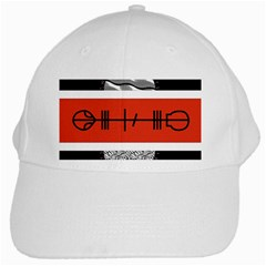 Poster Twenty One Pilots White Cap by Onesevenart