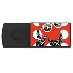 Twenty One Pilots Poster Contest Entry Rectangular Usb Flash Drive by Onesevenart