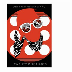 Twenty One Pilots Poster Contest Entry Large Garden Flag (two Sides) by Onesevenart