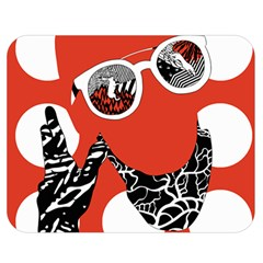 Twenty One Pilots Poster Contest Entry Double Sided Flano Blanket (medium)  by Onesevenart