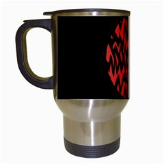 Albums By Twenty One Pilots Stressed Out Travel Mugs (white) by Onesevenart