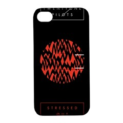 Albums By Twenty One Pilots Stressed Out Apple Iphone 4/4s Hardshell Case With Stand by Onesevenart