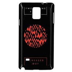 Albums By Twenty One Pilots Stressed Out Samsung Galaxy Note 4 Case (black) by Onesevenart