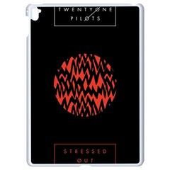 Albums By Twenty One Pilots Stressed Out Apple Ipad Pro 9 7   White Seamless Case by Onesevenart