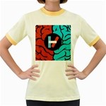 Twenty One Pilots Women s Fitted Ringer T-Shirts