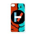 Twenty One Pilots Apple iPhone 4 Case (White)