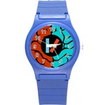 Twenty One Pilots Round Plastic Sport Watch (S)