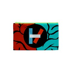 Twenty One Pilots Cosmetic Bag (xs) by Onesevenart