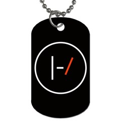 Twenty One Pilots Band Logo Dog Tag (one Side) by Onesevenart