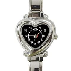 Twenty One Pilots Band Logo Heart Italian Charm Watch by Onesevenart