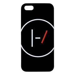 Twenty One Pilots Band Logo Iphone 5s/ Se Premium Hardshell Case by Onesevenart