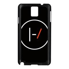 Twenty One Pilots Band Logo Samsung Galaxy Note 3 N9005 Case (black) by Onesevenart