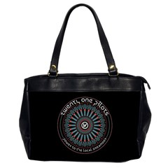 Twenty One Pilots Power To The Local Dreamder Office Handbags (2 Sides)  by Onesevenart