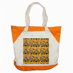 Amfora Leaf Yellow Flower Accent Tote Bag by Mariart