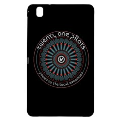 Twenty One Pilots Power To The Local Dreamder Samsung Galaxy Tab Pro 8 4 Hardshell Case by Onesevenart