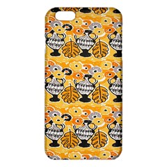 Amfora Leaf Yellow Flower Iphone 6 Plus/6s Plus Tpu Case by Mariart