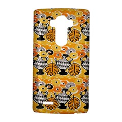 Amfora Leaf Yellow Flower Lg G4 Hardshell Case by Mariart