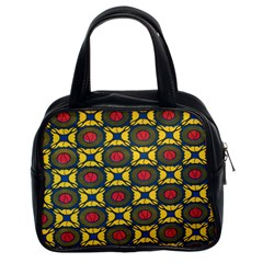 African Textiles Patterns Classic Handbags (2 Sides) by Mariart