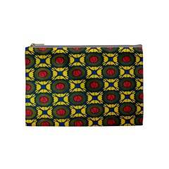 African Textiles Patterns Cosmetic Bag (medium)  by Mariart