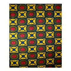 African Textiles Patterns Shower Curtain 60  X 72  (medium)  by Mariart