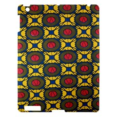 African Textiles Patterns Apple Ipad 3/4 Hardshell Case by Mariart