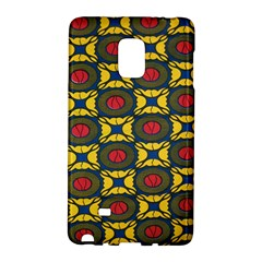 African Textiles Patterns Galaxy Note Edge by Mariart