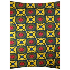 African Textiles Patterns Back Support Cushion