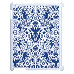 Birds Fish Flowers Floral Star Blue White Sexy Animals Beauty Apple Ipad 2 Case (white) by Mariart